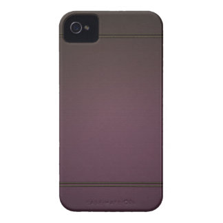 Caisse audacieuse vintage de Blackberry Étui iPhone 4