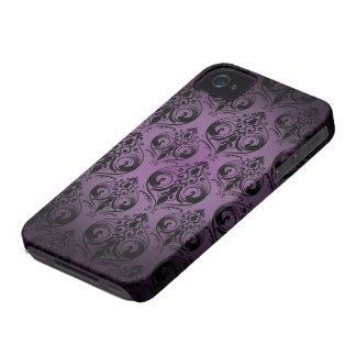 Caisse audacieuse vintage de Blackberry Étuis iPhone 4
