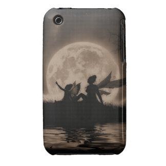 Caisse/couverture féeriques de courbe de Blackberr Étui iPhone 3