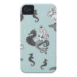 Caisse de Blackberry de sirène de Pearla par le du Étui iPhone 4
