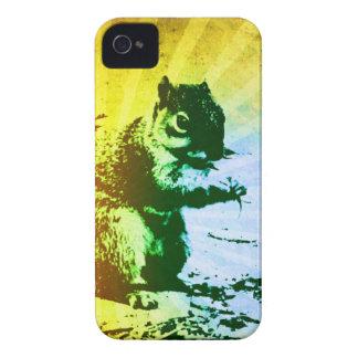 Caisse de Blackberry d'écureuil Coques iPhone 4