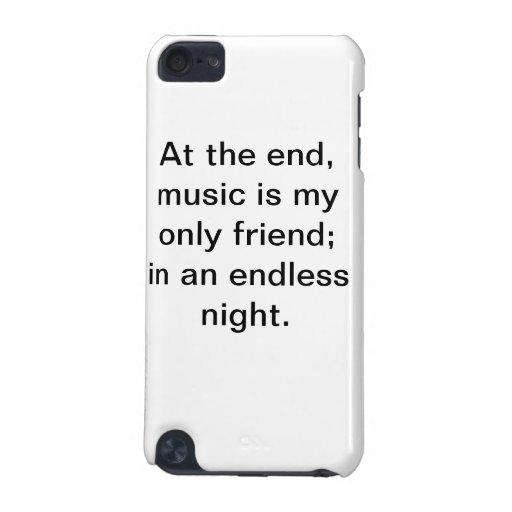 Caisse de motivation d'iPod de citation de musique