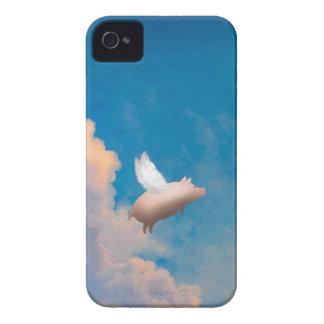 caisse de mûre de porc de vol étuis iPhone 4
