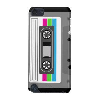 Caisse d'iPod de musique d'enregistreur à cassette Coque iPod Touch 5G