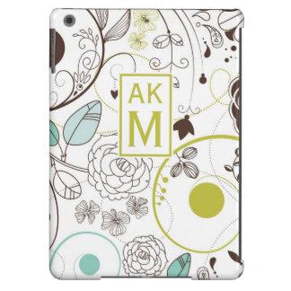 Caisse fantaisie florale d'air d'iPad de Coque iPad Air