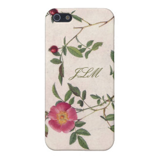 caisse florale blanche girly de l'iPhone 5 de fleu Coques iPhone 5