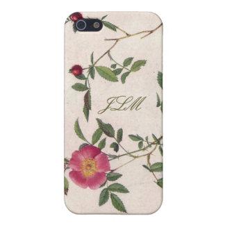 caisse florale blanche girly de l'iPhone 5 de fleu Coques iPhone 5