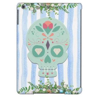 Caisse florale de crâne de sucre coque iPad air