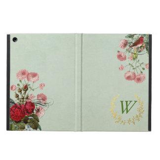 Caisse florale française d'air d'iPad avec le