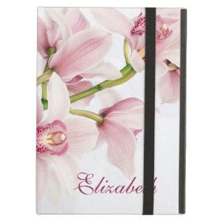 Caisse florale personnalisée de folio d'iPad d'orc