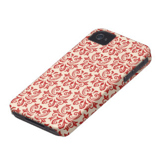 Caisse florale vintage rouge de Blackberry de moti