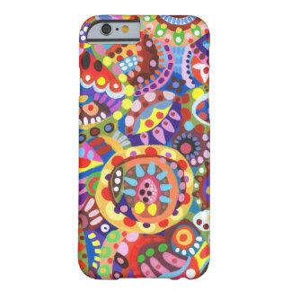 Caisse géniale colorée de l'iPhone 6 d'art
