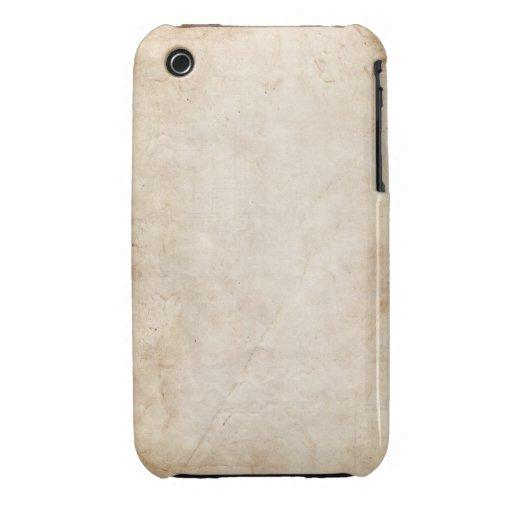 Caisse grunge vintage de courbe de Blackberry de c Coque Case-Mate iPhone 3