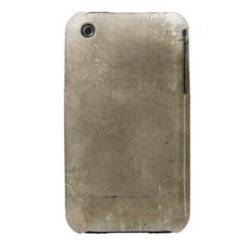 Caisse grunge vintage de courbe de Blackberry de c Coque iPhone 3 Case-Mate