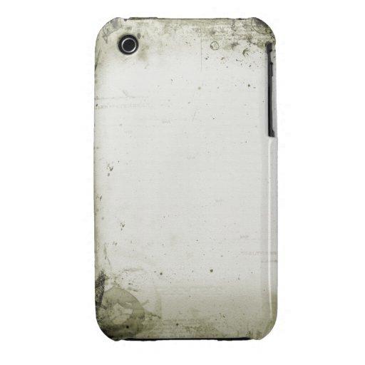Caisse grunge vintage de courbe de Blackberry de c Coques Case-Mate iPhone 3