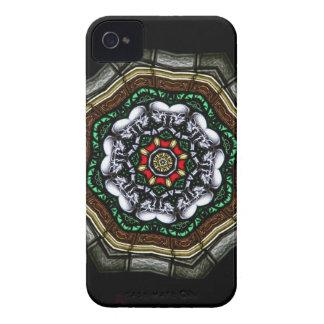 Caisse heureuse de Blackberry de crânes Coque iPhone 4 Case-Mate