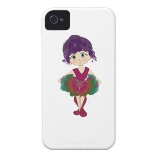 Caisse mignonne de Blackberry de ballerine Coque iPhone 4 Case-Mate