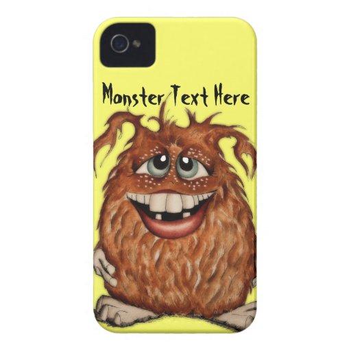 Caisse mignonne de Blackberry de monstre Coque iPhone 4 Case-Mate