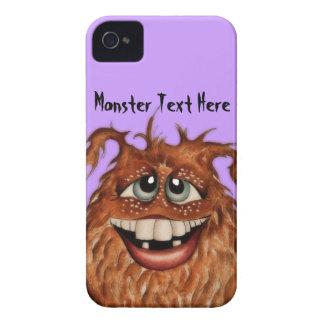 Caisse mignonne de Blackberry de visage de monstre Coques iPhone 4