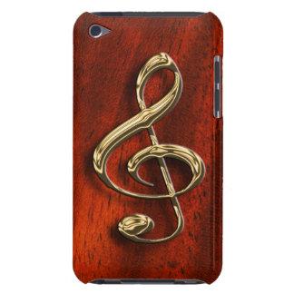 Caisse musicale brillante d'iPod de symbole Coque iPod Touch