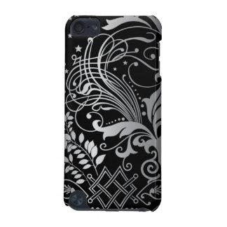 Caisse noire et blanche d'iPod Coque iPod Touch 5G
