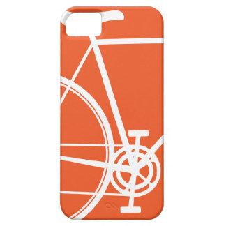 Caisse orange de l'iPhone 5 de bicyclette Étuis iPhone 5