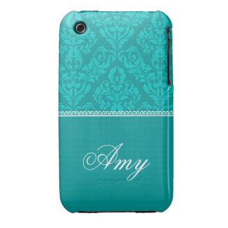 Caisse personnalisée de courbe de Blackberry de Coque Case-Mate iPhone 3