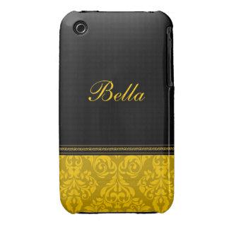 Caisse personnalisée de courbe de Blackberry de Coque iPhone 3 Case-Mate