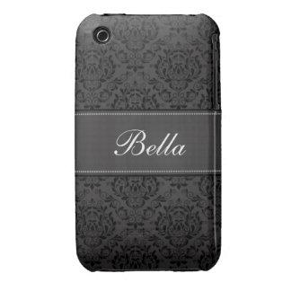 Caisse personnalisée de courbe de Blackberry de Coques Case-Mate iPhone 3