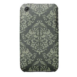 Caisse verte de courbe de Blackberry de conception Coque Case-Mate iPhone 3