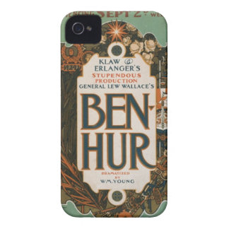 Caisse vintage d'affiche d'art de Ben Hur Coque iPhone 4 Case-Mate