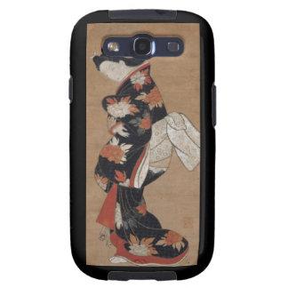 Caisse vintage de Blackberry de geisha Étuis Samsung Galaxy S3