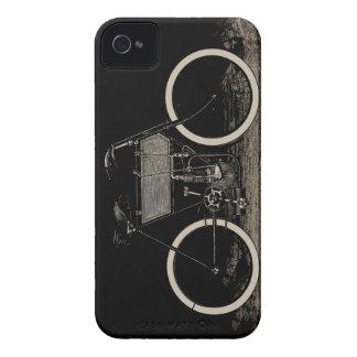 Caisse vintage de Blackberry de moto de vélo Coques Case-Mate iPhone 4