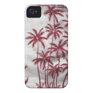 caisse vintage de Blackberry de palmiers à peine Coque iPhone 4 Case-Mate