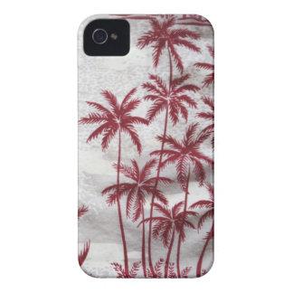 caisse vintage de Blackberry de palmiers à peine l Coques iPhone 4 Case-Mate