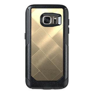 Caisses balayées de Samsung de style d'or Coque OtterBox Samsung Galaxy S7