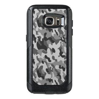 Caisses grises de Samsung de style de camouflage Coque OtterBox Samsung Galaxy S7