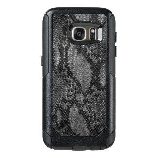 Caisses grises de Samsung de style de peau de Coque OtterBox Samsung Galaxy S7