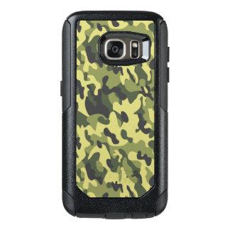Caisses vertes de Samsung de style de camouflage Coque OtterBox Samsung Galaxy S7