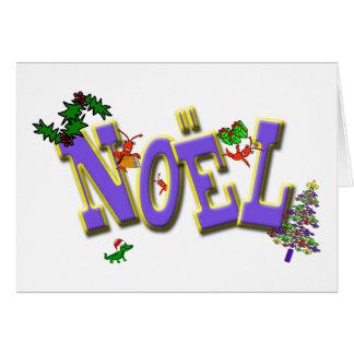 Cajun Panzerkrebs-Lilien-Weihnachten-Weihnachten Karte