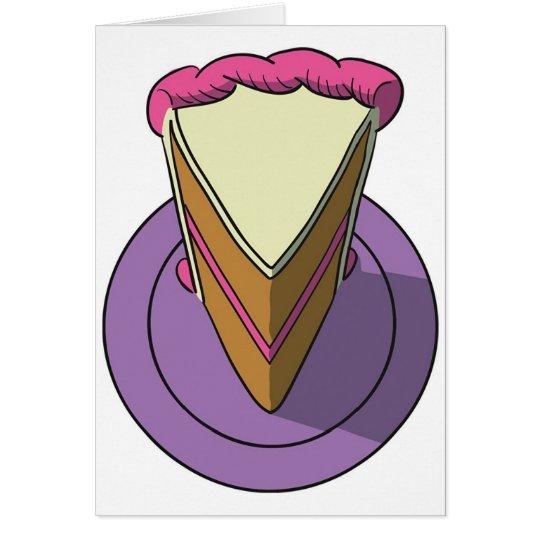 Cake1 Grußkarte