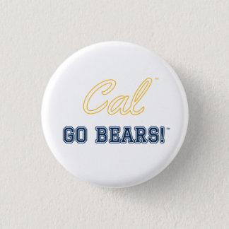Cal gehen Bären!: Uc- BerkeleyButton Runder Button 2,5 Cm