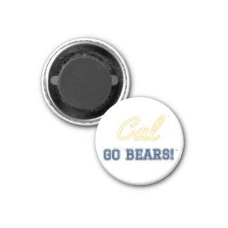 Cal gehen Bären!: Uc- Berkeleymagnet Runder Magnet 2,5 Cm