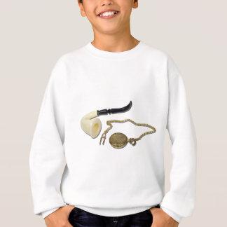CalabashPipePocketWatch102410 Sweatshirt