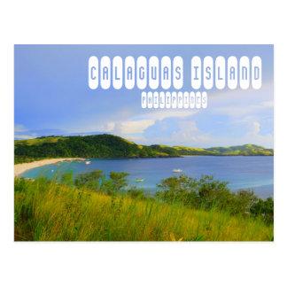 Calaguas Insel-Postkarte Postkarte