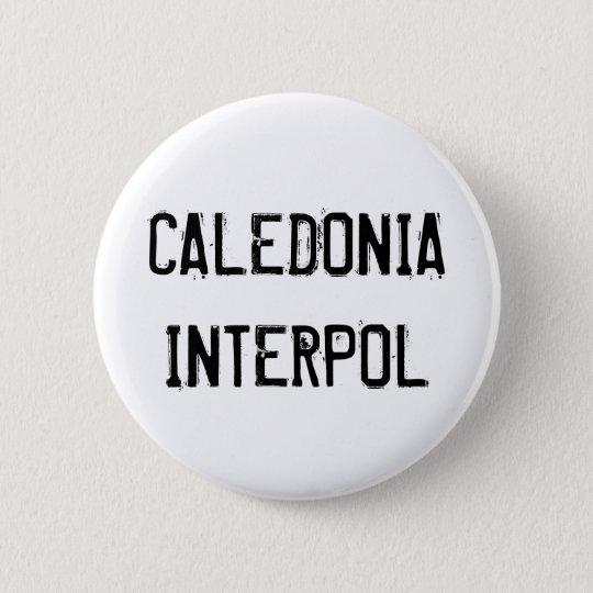 Caledonia Interpol Knopf Runder Button 5,1 Cm