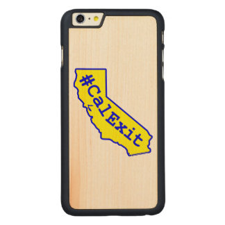 CalExit Carved® Maple iPhone 6 Plus Hülle