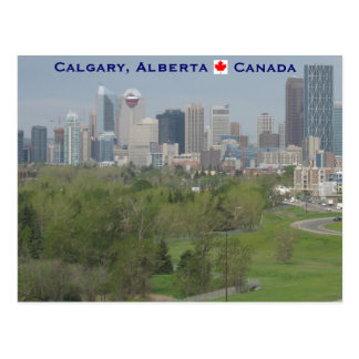 Calgary Alberta Kanada Postkarte