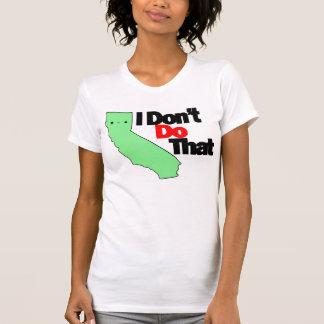 Cali: Ich tue nicht den T-Shirt