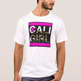 Cali Mädchen-Repräsentanten-Rosa T-Shirt